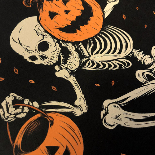 Night of the Pumpkin 9x12 Screen Print