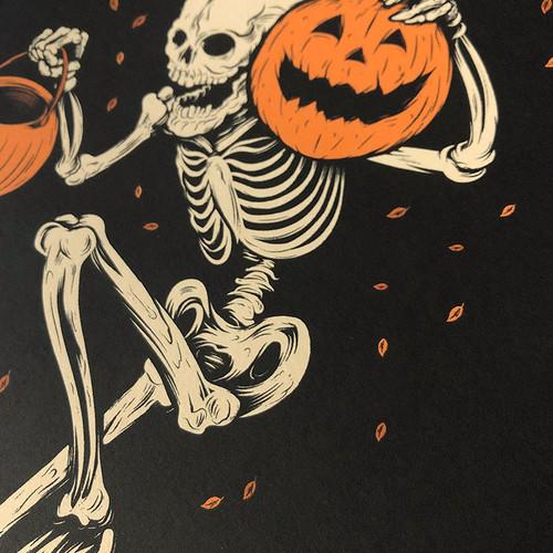 Night of the Pumpkin 9x12 Screen Print