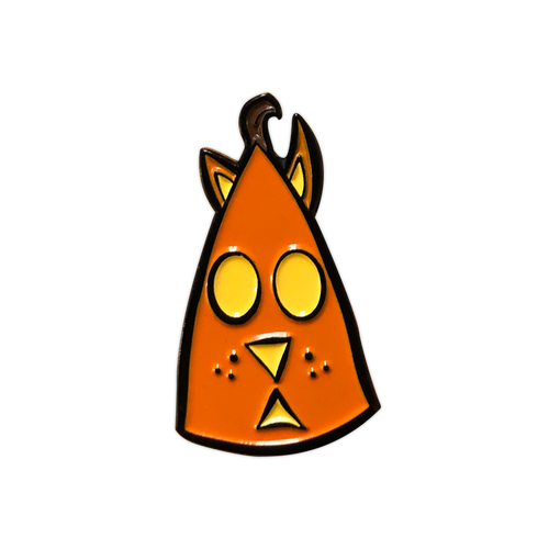 Cat 'O Lantern Enamel Pin