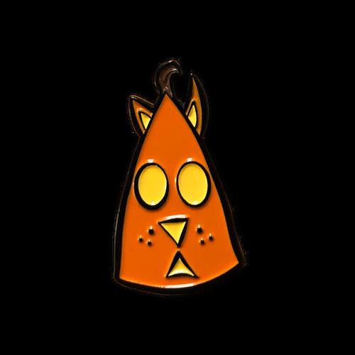Cat 'O Lantern Enamel Pin