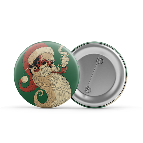 """Old St. Nick 1.25"""" Button"""