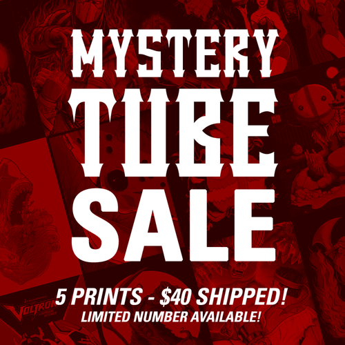 Mystery Tube - 5 Prints for $40 - FREE SHIPPING - Limited Number Available!