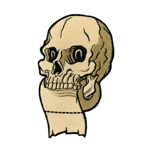 TP Skull Embroidered Patch