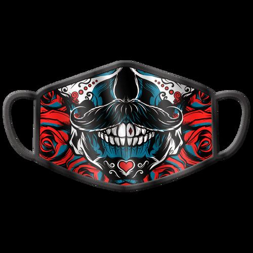 Debonair Sugar Skull Washable Face Mask
