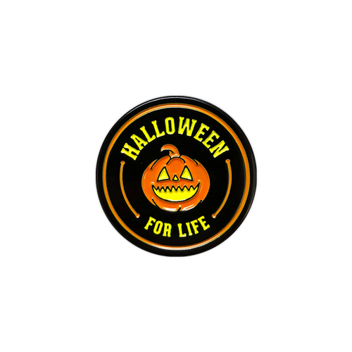 Halloween for Life Enamel Pin by Seventh.Ink