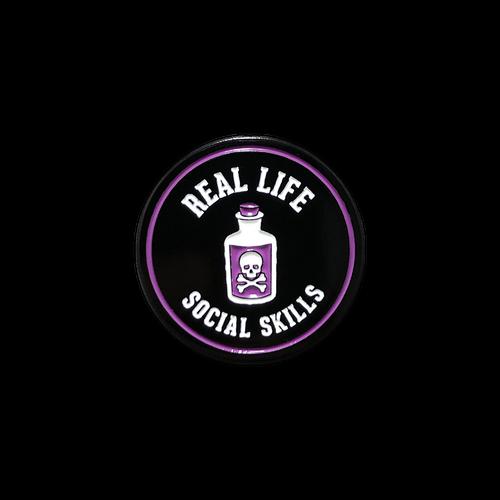 Real Life Social Skills Enamel Pin