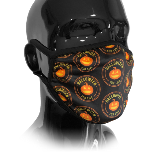 Halloween For Life Washable Face Mask