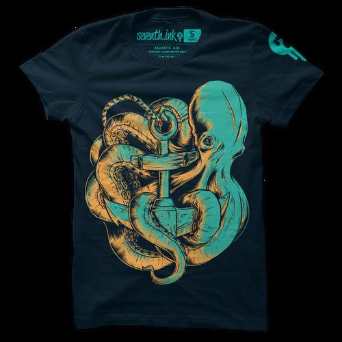Aquatic Aid shirt by Seventh.Ink