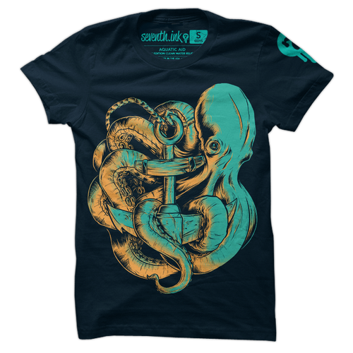 Aquatic Aid shirt by Seventh.Ink