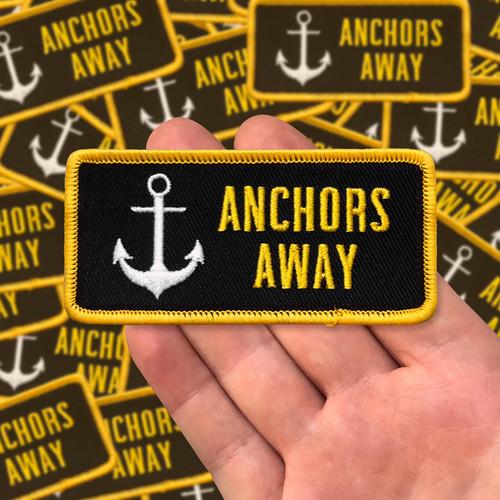 Anchors Away Rectangular Patch