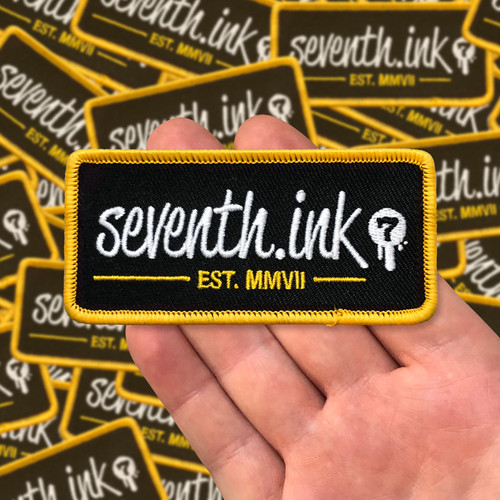 Seventh.Ink Rectangular Logo Patch
