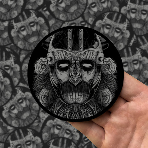 The Norseman Noir Printed Patch