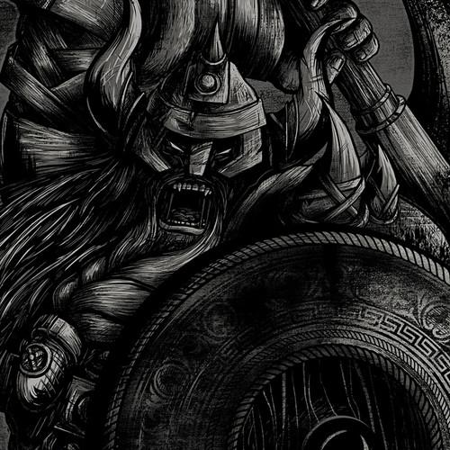 The Viking Noir Women's Racerback Tank
