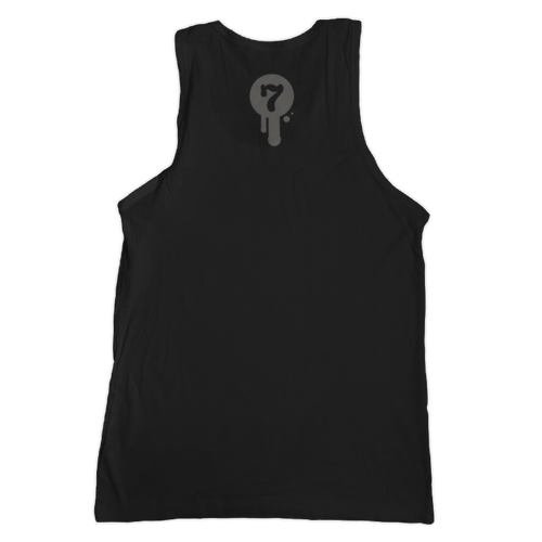 Noir Unisex Tank Top Back