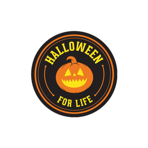 Halloween for Life Sticker