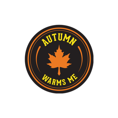Autumn Warms Me Sticker