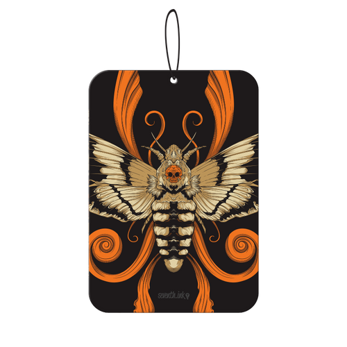 Acherontia Entwined Re-Inked Air Freshener by Seventh.Ink