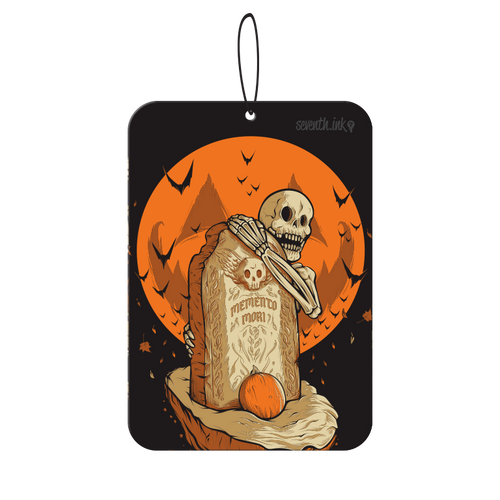 Memento Mori Air Freshener by Seventh.Ink