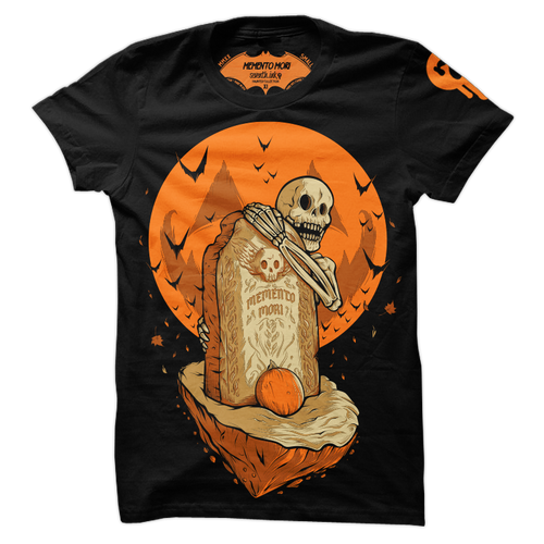 Memento Mori T-Shirt by Seventh.Ink