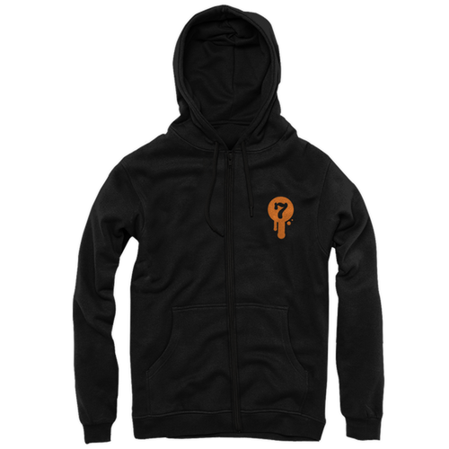 Mapled Zip-Up Hoody by Seventh.Ink