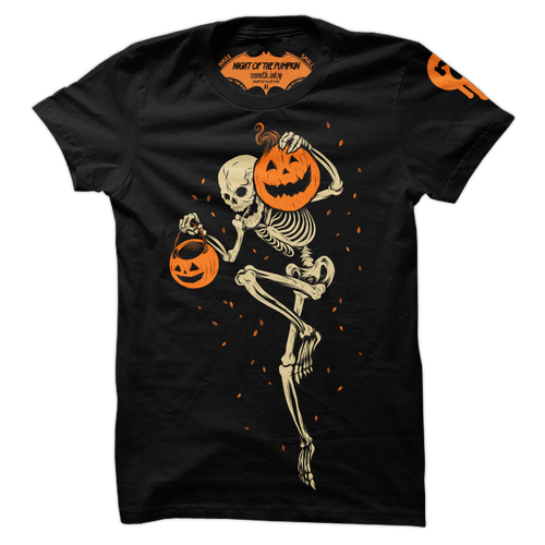 Night of the Pumpkin Re-Inked Shirt by Seventh.Ink