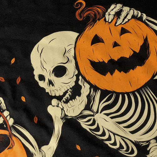 Night of the Pumpkin Zip-Up Hoody by Seventh.Ink