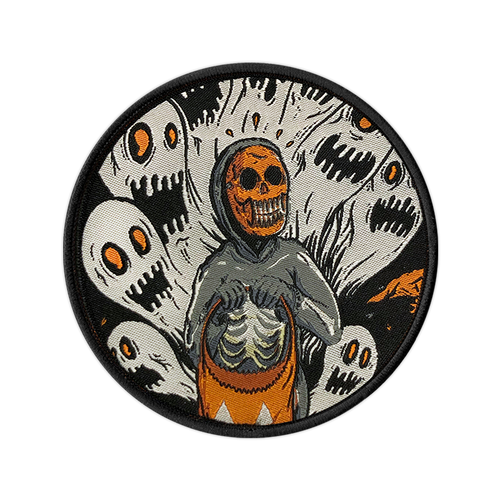 Ghoulish Fright Woven Patch by Seventh.Ink