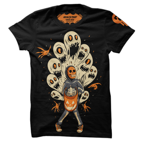 Ghoulish Fright Shirt by Seventh.Ink