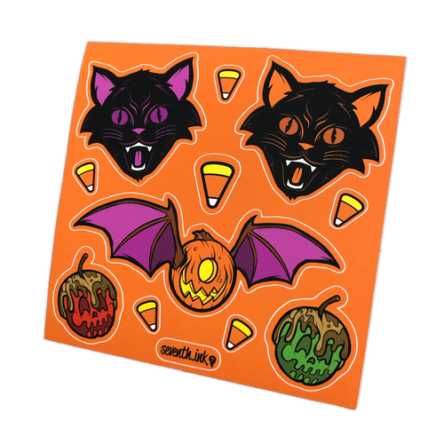 Halloween 2020 Kiss Cut Sticker Sheet