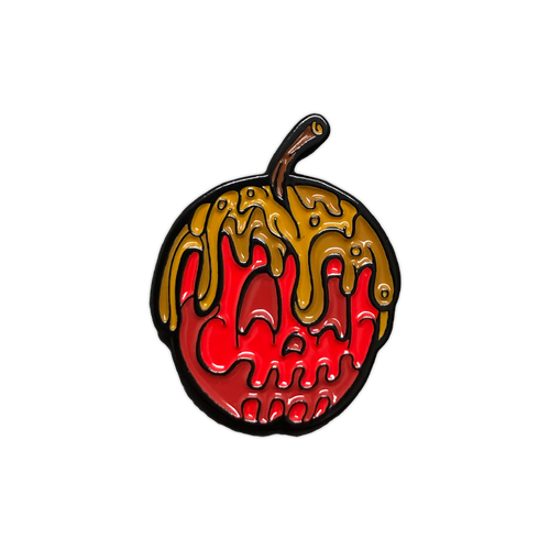 Red Candy Apple Enamel Pin