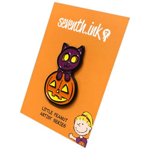 Midnight Cat Enamel Pin (Guest Art by Daughter Jade Johnson)