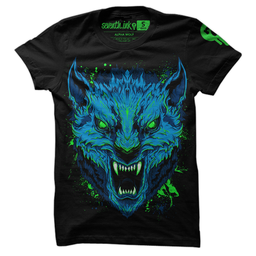 Alpha Wolf shirt by Seventh.Ink