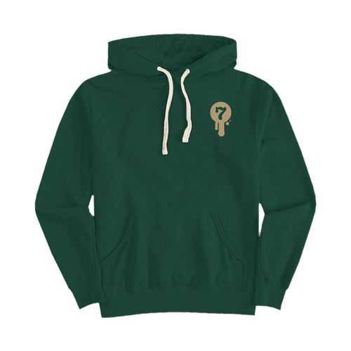 Old Saint Nick Pullover Hoody by Seventh.Ink