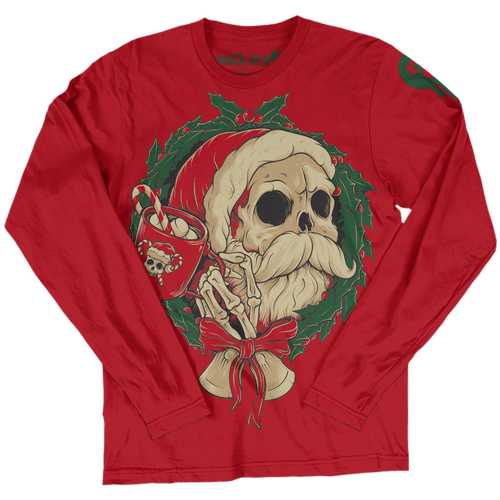 Holly Jolly Long Sleeve Shirt by Seventh.Ink