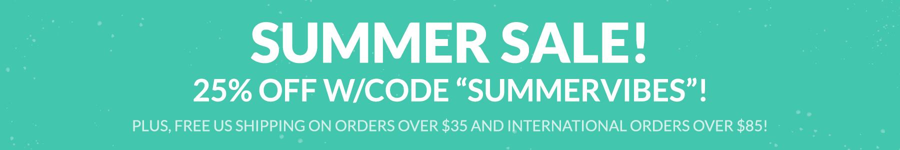 Summer Vibes Sale