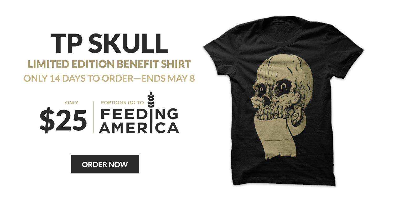 TP Skull Benefit Shirt