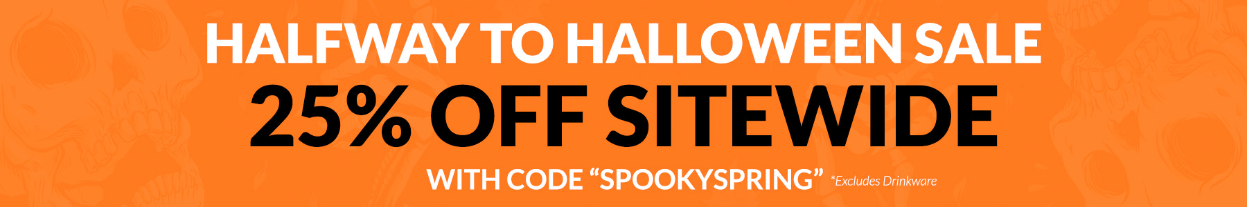 Halfway to Halloween Sale