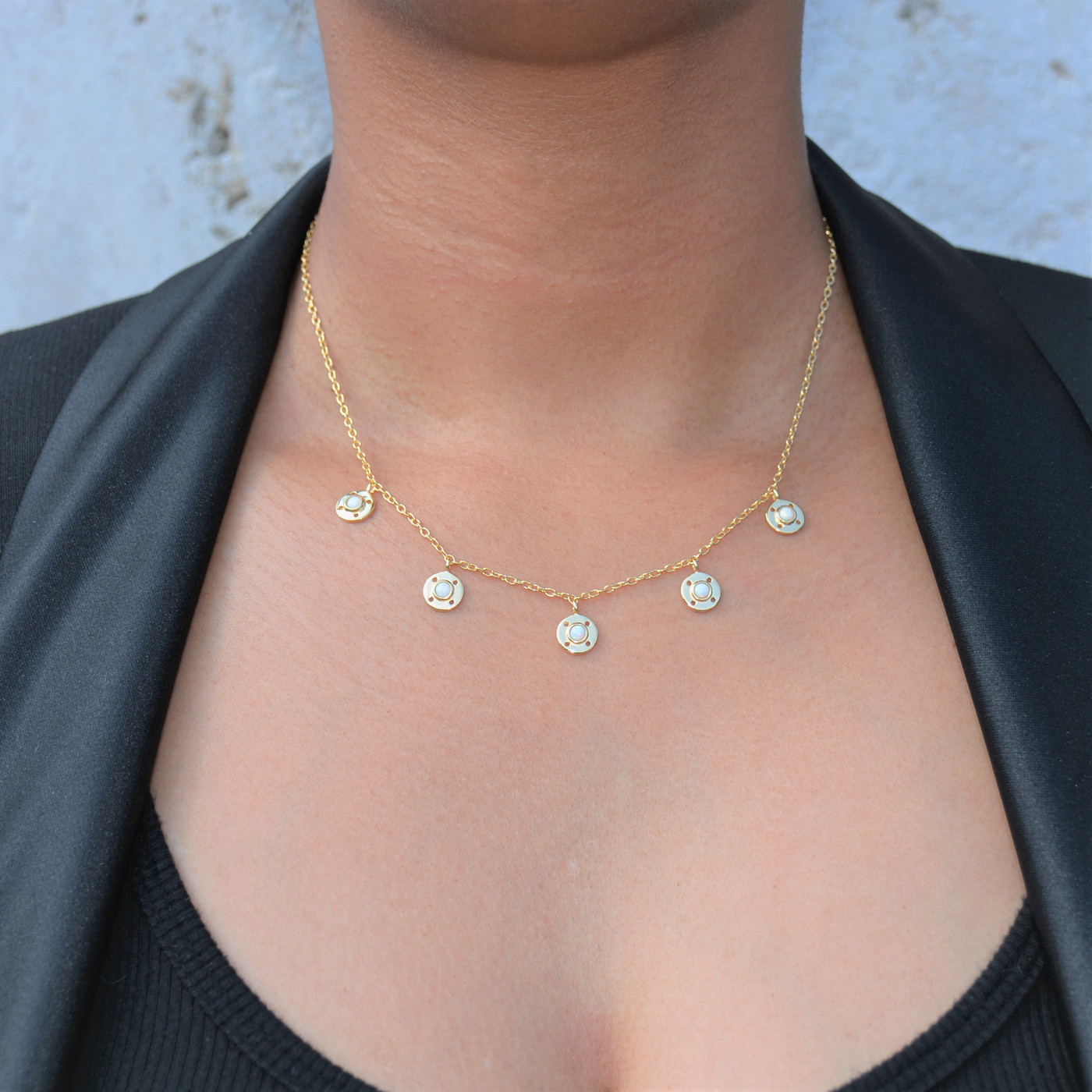 Opal Goddess Necklace