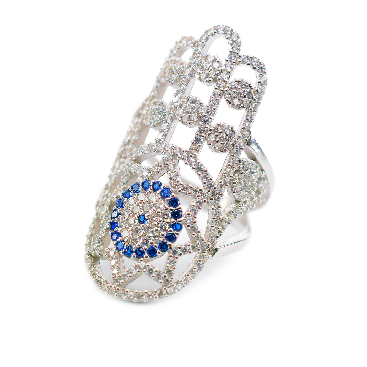 The Hamsa Evil Eye Ring