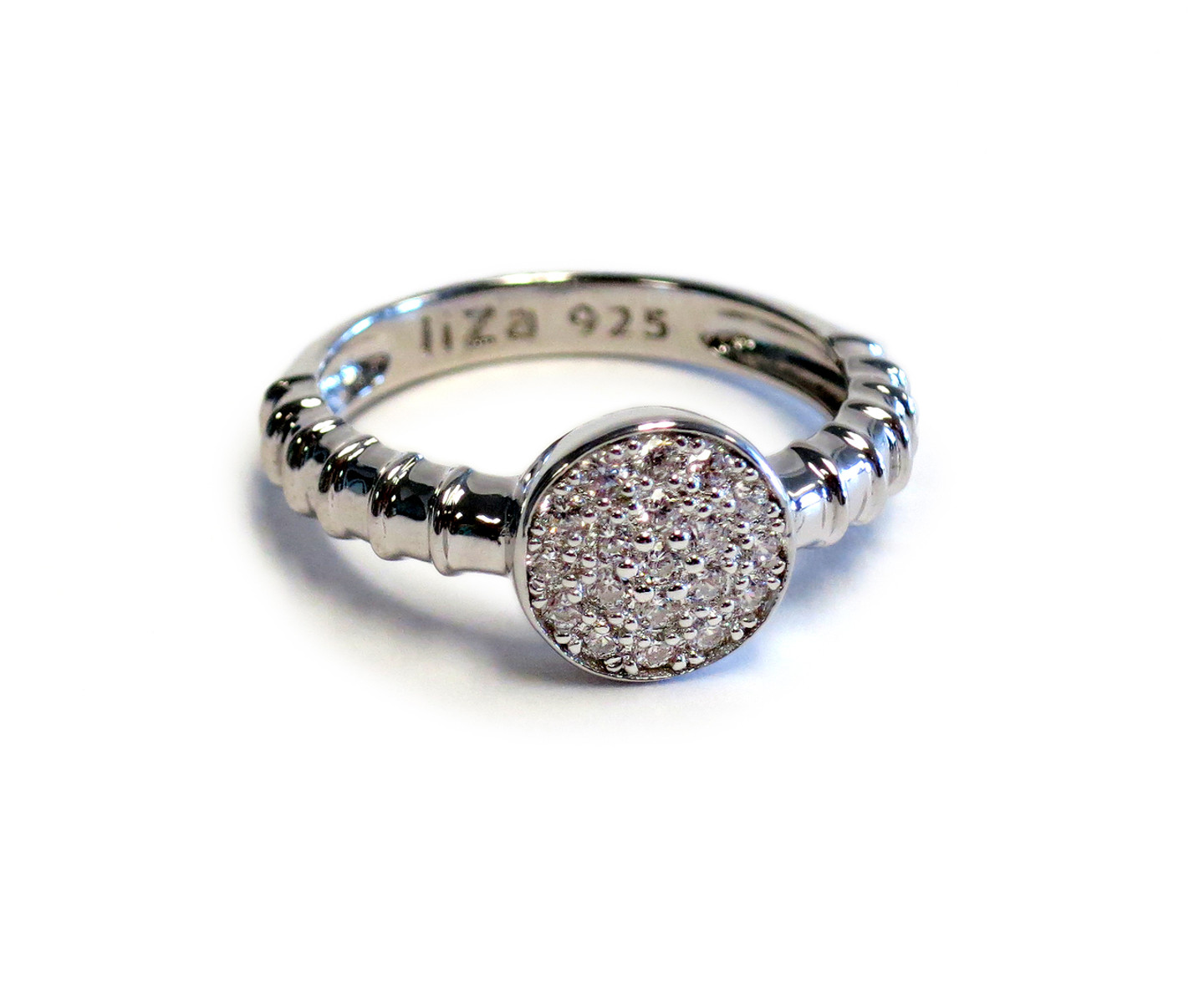 Sterling Silver Touch Solar Ring