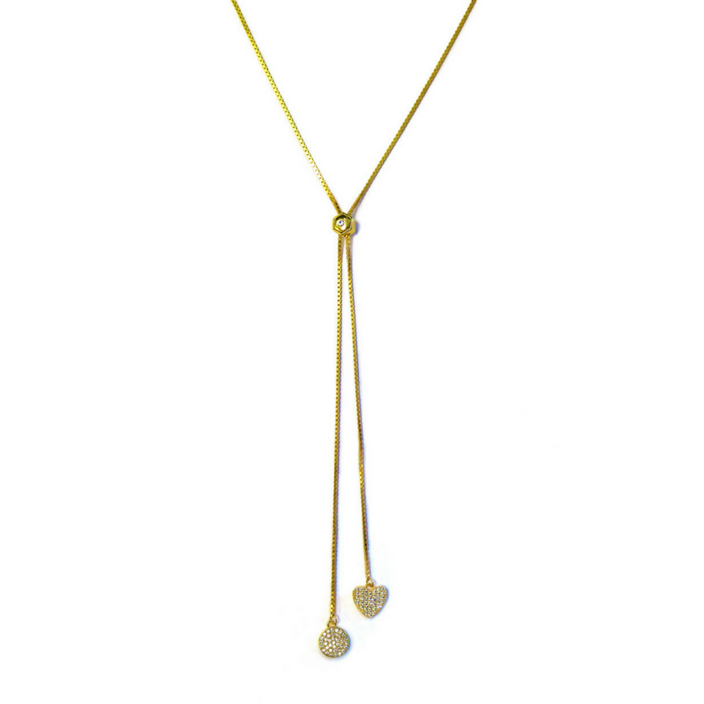 Playful Lariat Necklace