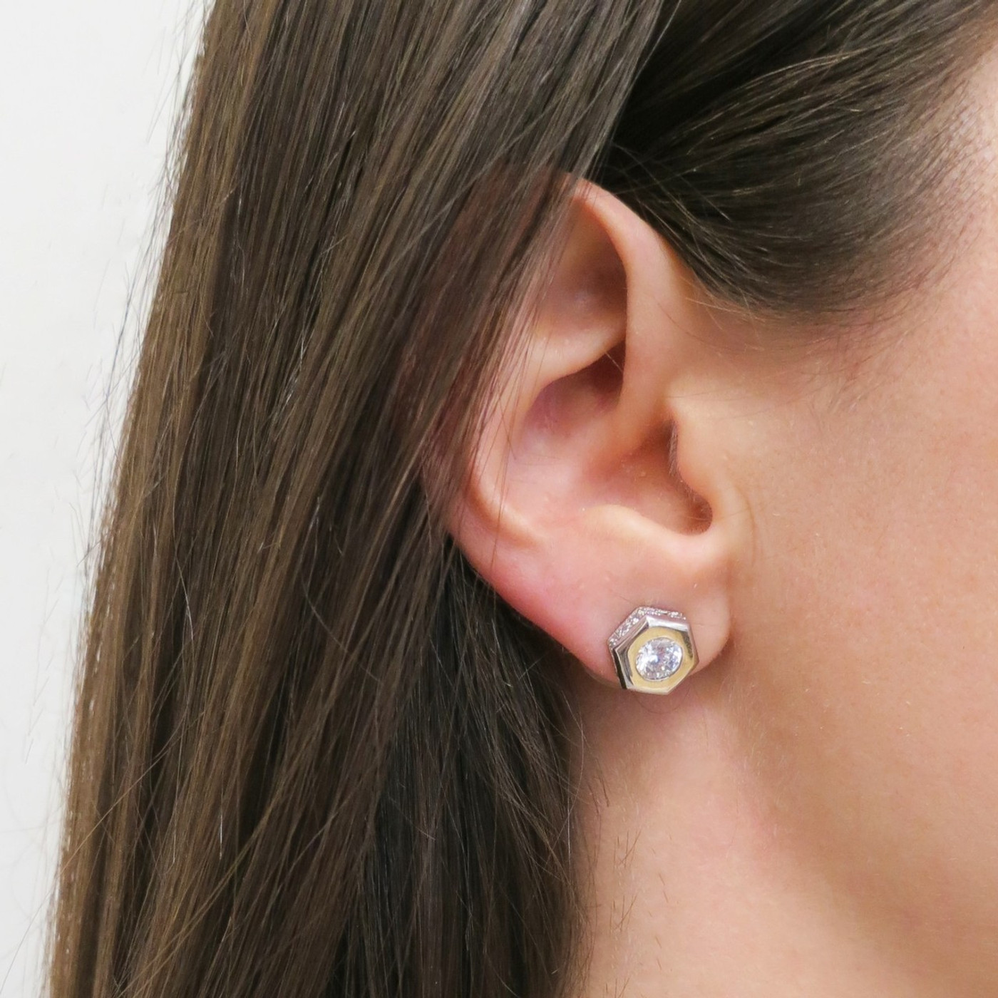 The Nut Stud Earring