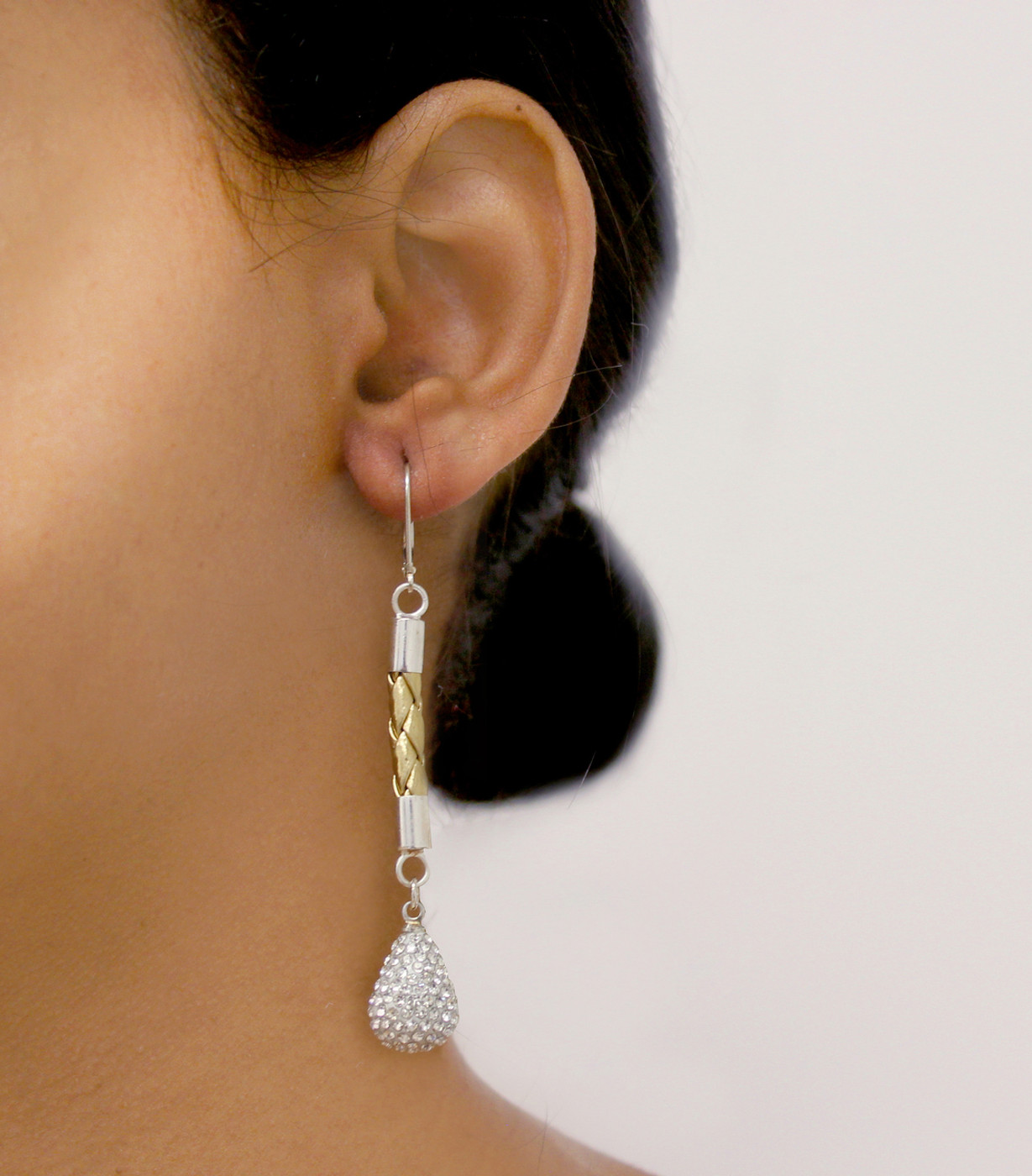 Glam Drop Earring Gold