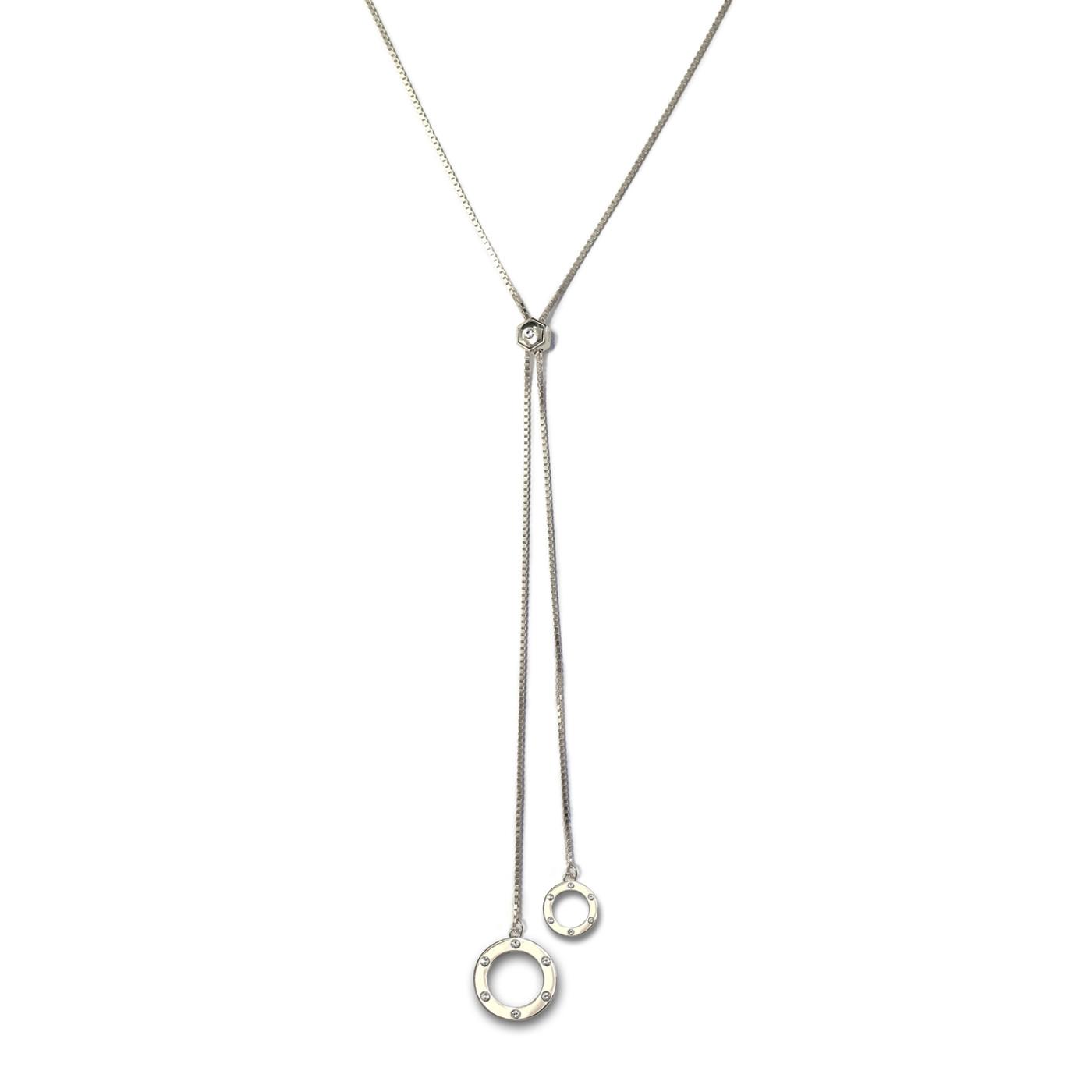 Orbit Lariat Necklace