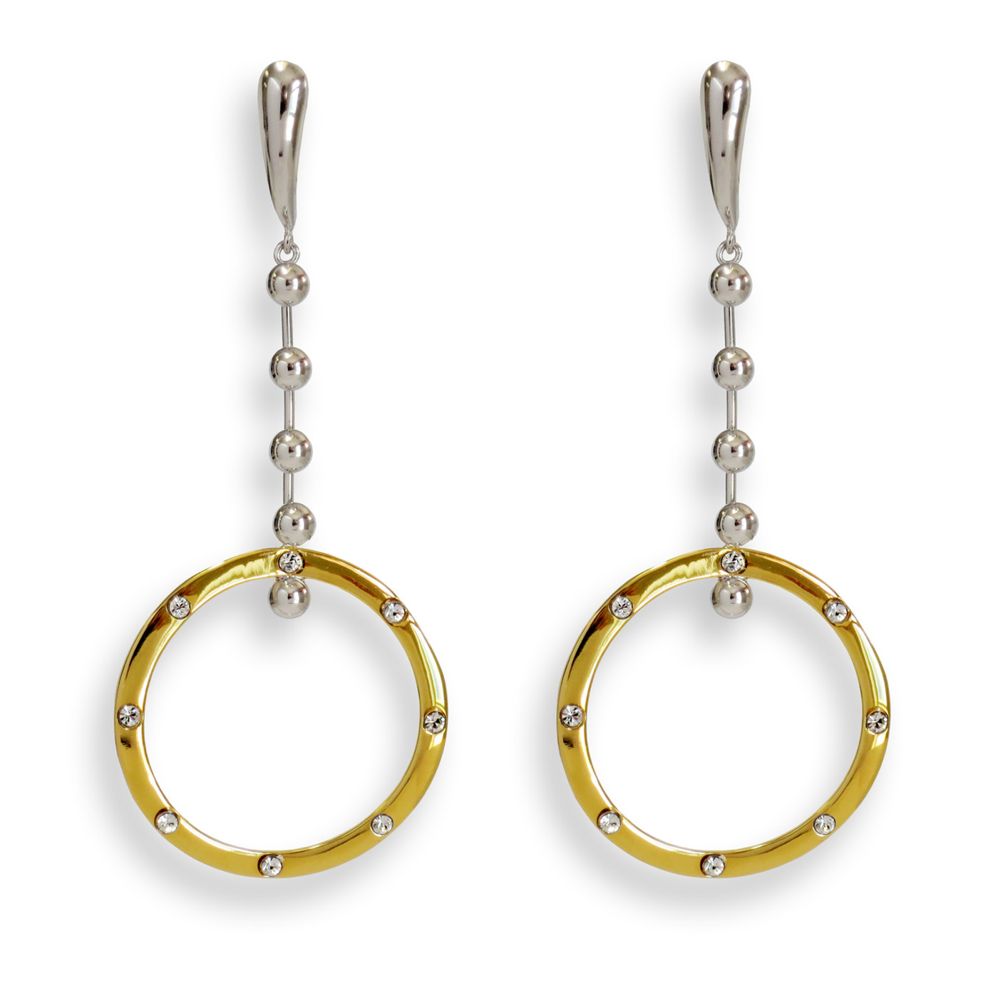Amour Earrings Two-Tone