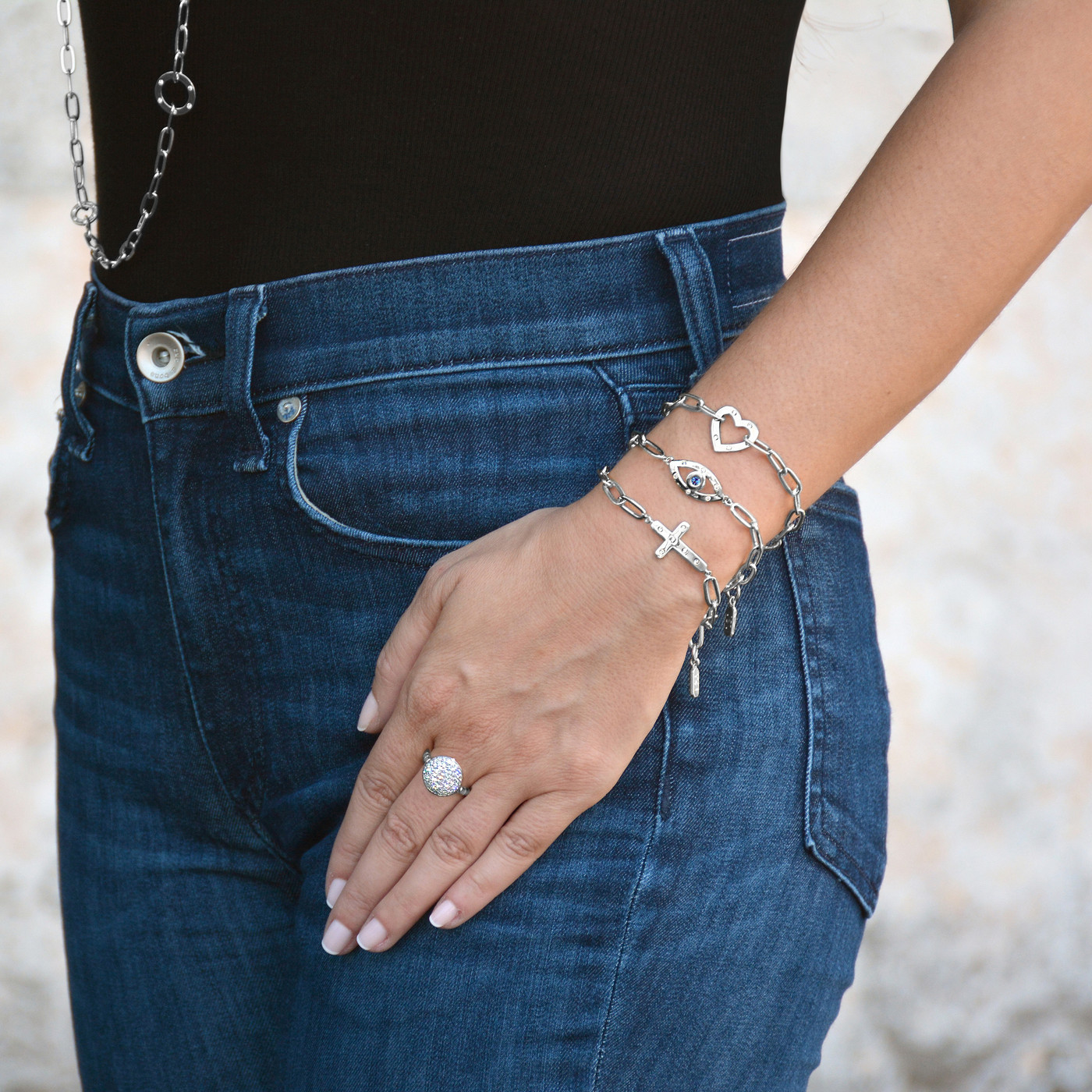 Sterling Silver Solar Ring