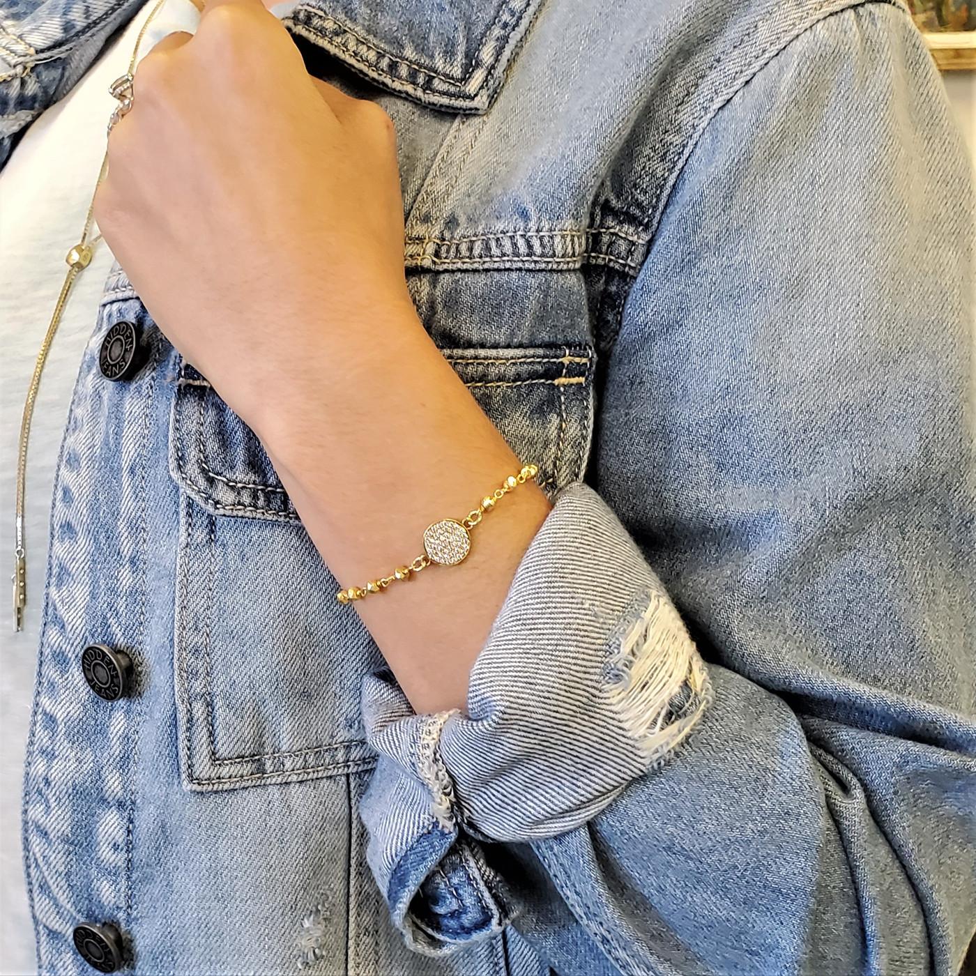 Ida Chain Bracelet Gold