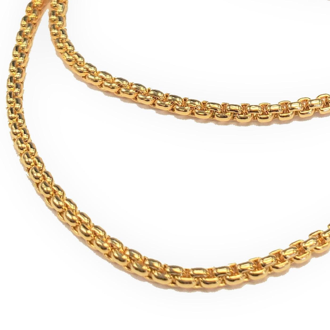 Lola Box Chain Necklace