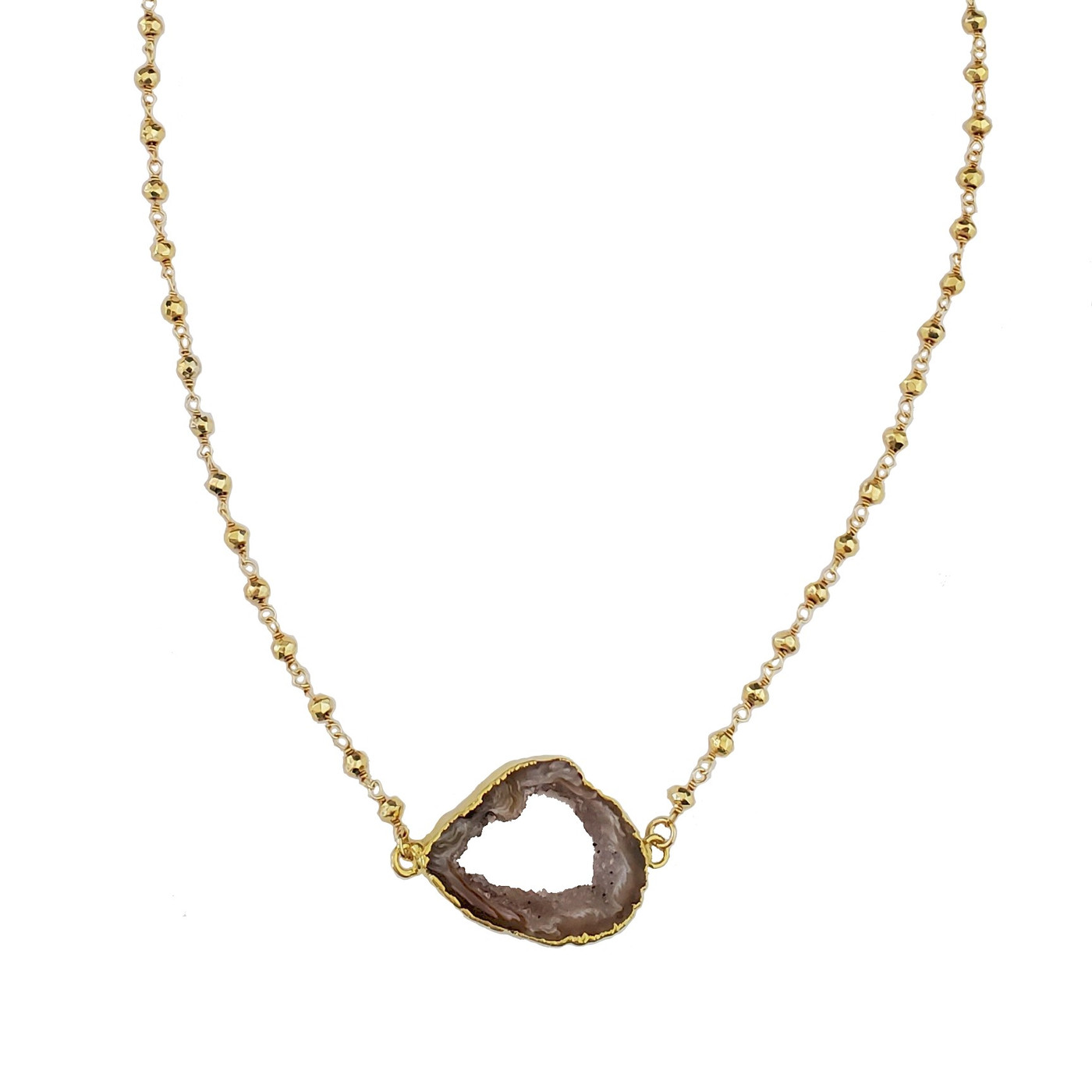 Ida Geode Necklace