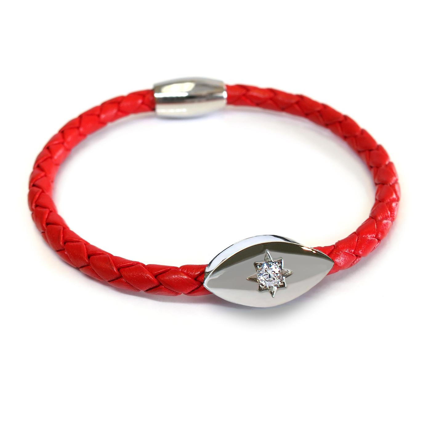 Evil Eye Starlight Bracelet Silver